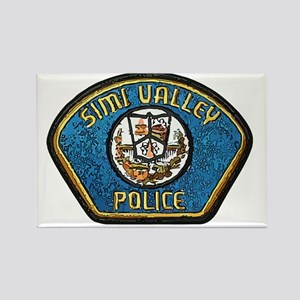 Simi Valley Police patch Rectangle Magnet