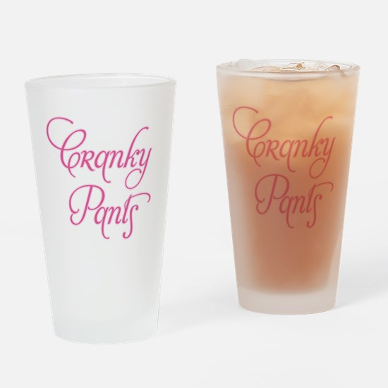 Cranky Pants Drinking Glass