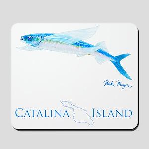 Flying Fish Catalina Island 2 Mousepad