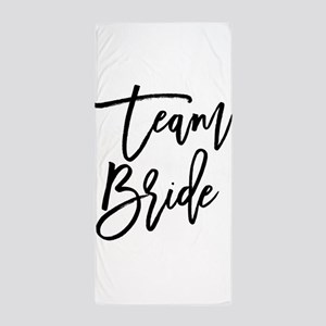 Team Bride Beach Towel
