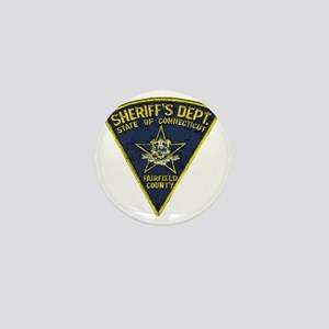 Fairfield County Sheriff patch Mini Button
