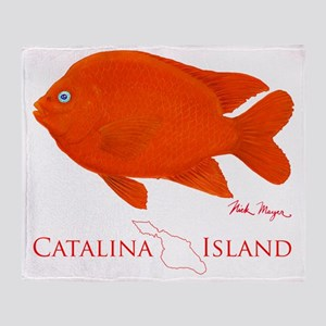 Garibaldi Catalina Island Throw Blanket