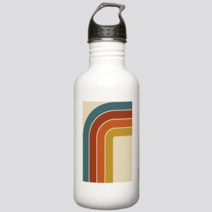 Retro Curve Stainless Water Bottle 1.0L