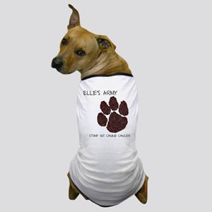 Elles Army - Stomp out Cancer Dog T-Shirt