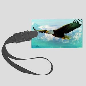 soaring eagle Large Luggage Tag