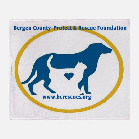 Bergen County Protect and Rescue Fou Throw Blanket