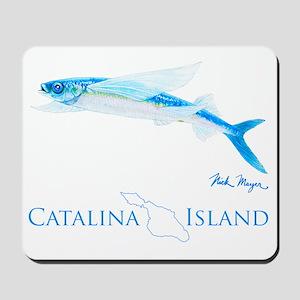 Flying Fish Catalina Island 1 Mousepad