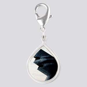 Bomber what bomber? Silver Teardrop Charm