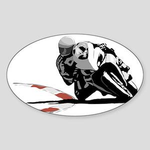 Track Rider Sticker (Oval)