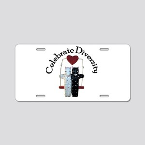 Diversity Aluminum License Plate