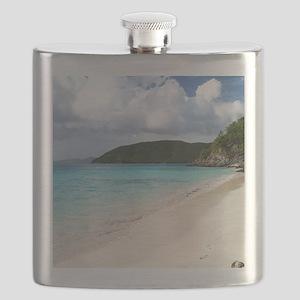 Cinnamon Bay, St. John USVI Flask