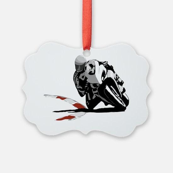 Track Rider (full) Ornament