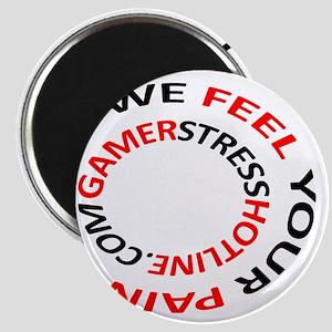 Gamer Stress Hotline Com Magnet