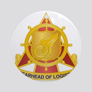 Transportation Corps Round Ornament
