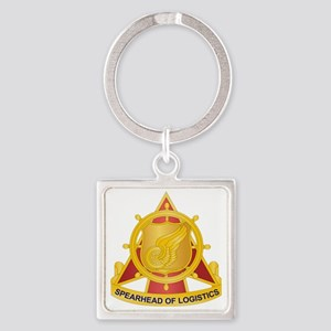 Transportation Corps Square Keychain
