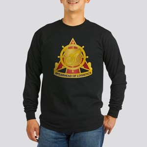 Transportation Corps Long Sleeve Dark T-Shirt