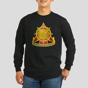 Transportation Corps Long Sleeve Dark T-Shirt