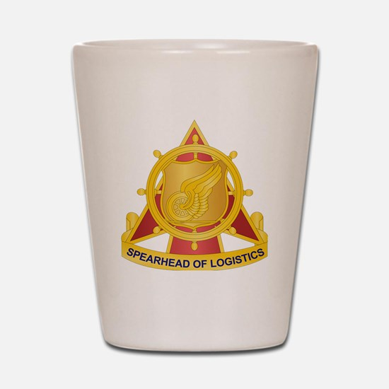 Transportation Corps Shot Glass