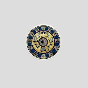 Greek Plate Mini Button