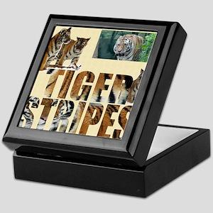 tiger cover Keepsake Box