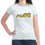Shake (light) Jr. Ringer T-Shirt