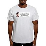JFK Secrecy Quote Light T-Shirt