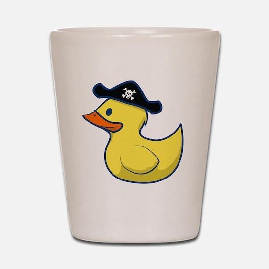 Pirate Duck Shot Glass