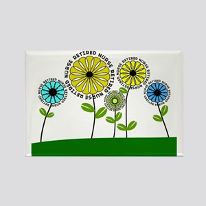 Retired nurse pillow 3  2013 Rectangle Magnet