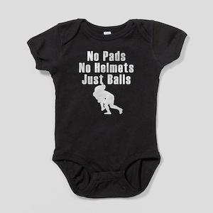 Just Balls Rugby Baby Bodysuit