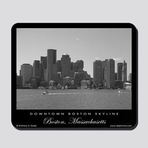 Downtown Boston Skyline - Mousepad