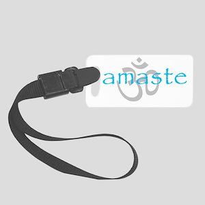 Om Namaste Small Luggage Tag