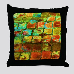 brick Throw Pillow