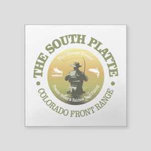 South Platte River Sticker