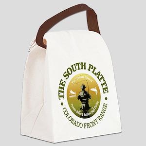 South Platte River Canvas Lunch Bag