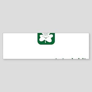 I must be Irish, Hilarious Sticker (Bumper)