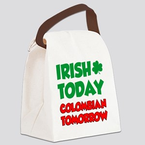 Irish Today Colombian Tomorrow Canvas Lunch Bag