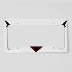 Dark Wing Heart License Plate Holder