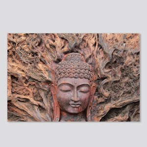 Asian Woodcarving Postcards (Package of 8)