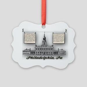 Philadelphia Landmarks – Independ Picture Ornament