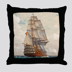 sas_shower_curtain Throw Pillow