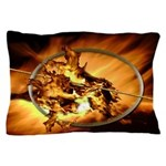 Mocking Hunger Fire Pillow Case