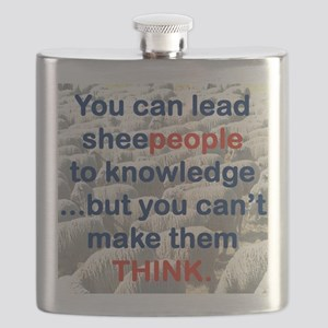 YOU CAN LEAD SHEEPEOPLE TO KNOWLEDGE Flask