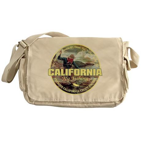 California Fly Fishing Messenger Bag