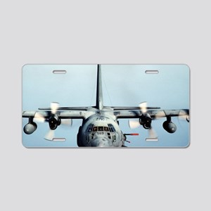 C-130 Spooky Aircraft Aluminum License Plate