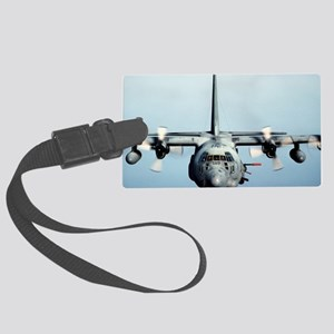 C-130 Spooky Aircraft Large Luggage Tag