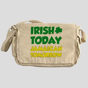 Irish Today Jamaican Tomorrow Messenger Bag