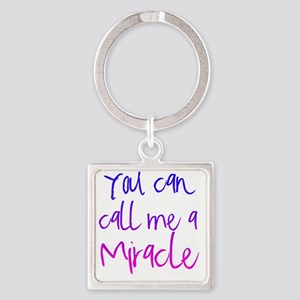 miracle Square Keychain