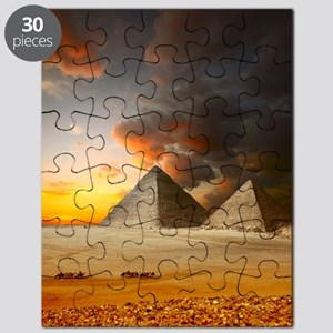 Great Pyramids of Giza Puzzle