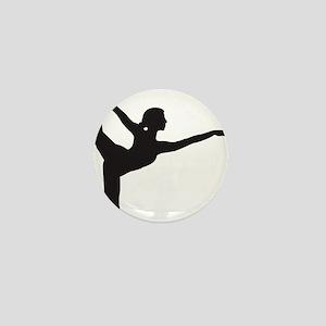 Bikram Yoga Bow Pose Mini Button
