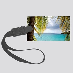 Cinnamon Bay, St. John USVI Large Luggage Tag